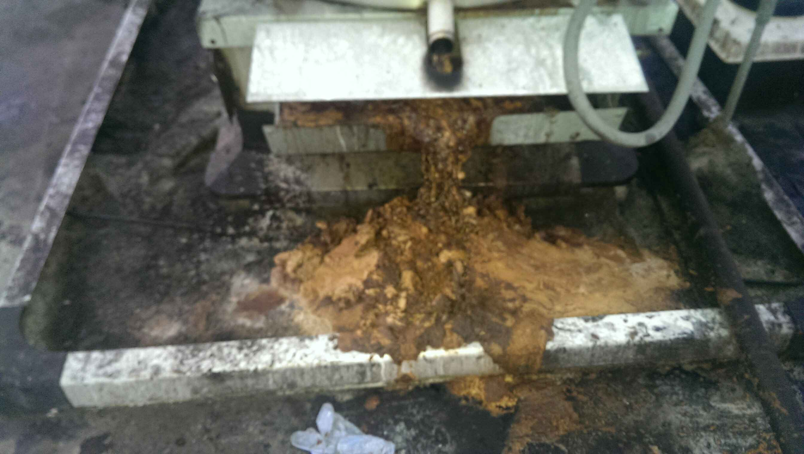 Evaluating the Cause of Grease Build Up on Your Roof Top