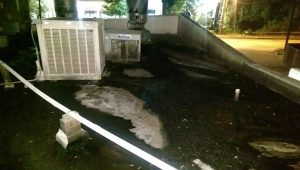 Grease Build up from Poor Waste Water Management