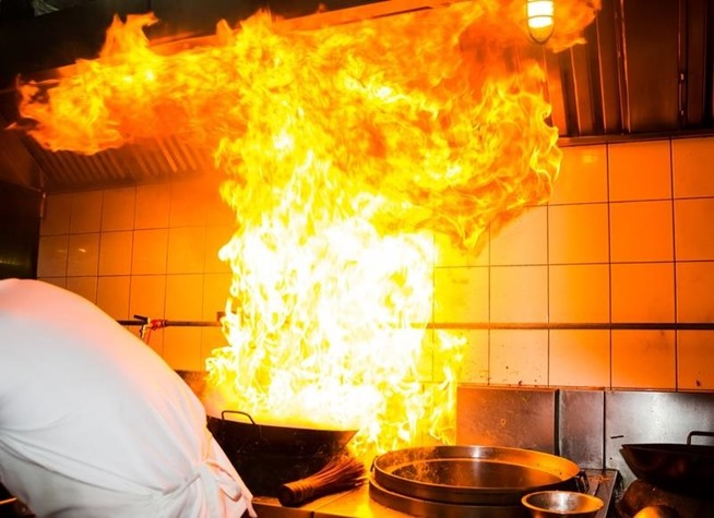Does Your Kitchen Staff Know What to do When a Grease Fire Occurs?
