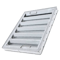 Galvanized Baffle Filters